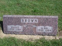 Madge <i>McCullough</i> Brown