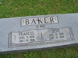 Frances <i>Edwards</i> Baker