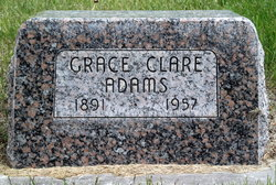 Grace Clare <i>Day</i> Adams