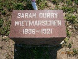 Sarah <i>Curry</i> Weitmarschen