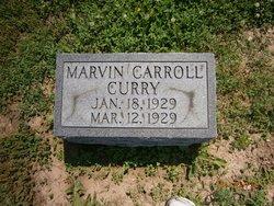 Marvin Carroll Curry