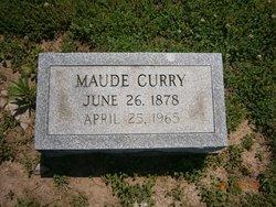 Maude Mae <i>Sherwood</i> Curry