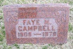 Faye M. <i>Watson</i> Campbell
