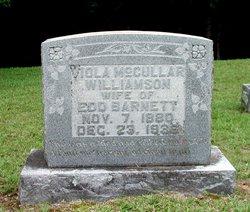 Viola McCullar <i>Williamson</i> Barnett