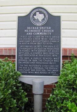 Decker Methodist Cemetery