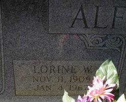 Lorine <i>Wright</i> Alford