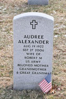 Audree <i>Smith</i> Alexander