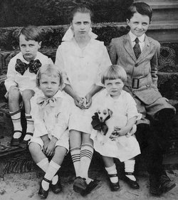 Alice Gertrude <i>Burch</i> Evans