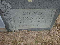Rosa Bell Lee <i>Williams</i> Jones