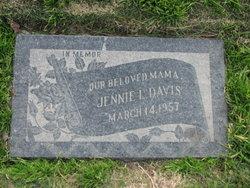 Nora Jane Jennie <i>Palmer</i> Davis
