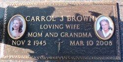 Carrol Jeanne <i>Cunningham</i> Brown