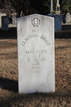 Pvt Claudius Julius Alexander