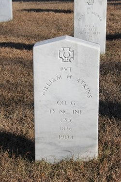Pvt William H. Atkins