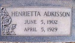 Henrietta <i>Meyer</i> Adkisson