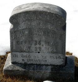 Augustus Washington Lawrence