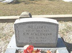 William Edward Ackermann