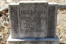 Emma A Minnie <i>Johnson</i> Brunson