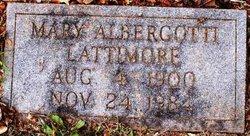 Mary <i>Albergotti</i> Lattimore