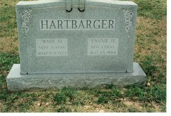 Courtney Frances Fannie <i>Hodges</i> Hartbarger