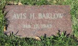 Avis H Barlow