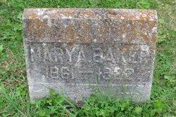 Mary A <i>Fisher</i> Baker