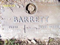 Mary Esther <i>Bennett</i> Barrett