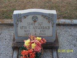 Sgt Otto C. Afflerbach
