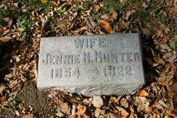 Jennie H Hunter