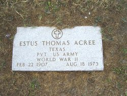 Estus Thomas Acree