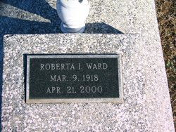 Roberta Inez <i>Johnston</i> Ward