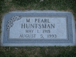 Martha Pearl <i>Lowe</i> Huntsman