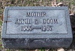 Anna B Annie <i>Berry</i> Doom