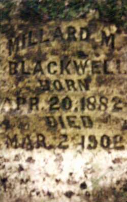 Millard M. Millie Blackwell
