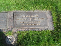 Clara <i>Smith</i> Mayes