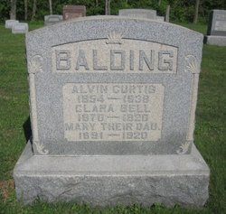 Clara Bell Isabelle <i>Nelson</i> Balding