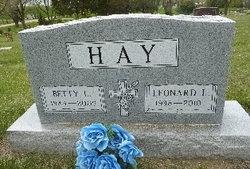 Betty Lorraine <i>Sperle</i> Hay