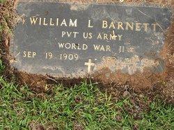 PFC William L Barnett