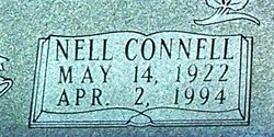 Nell Monee <i>Connell</i> Taylor Tate