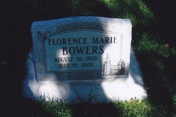 Florence Marie Bowers