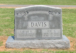 Sarah Elizabeth <i>Malicoat</i> Davis