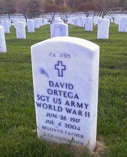 Sgt David Ortega