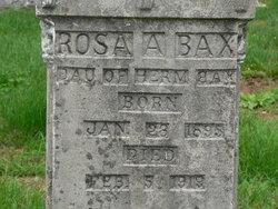 Rosa A Bax