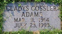 Gladys May <i>Cossler</i> Adams