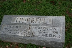 Phoeba Jane Hubbell