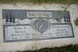 Billye Jo <i>Morton</i> Bronson