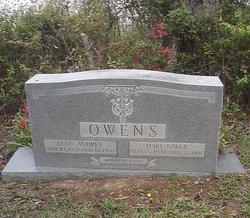 Mary Marion <i>Baker</i> Owens