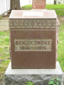 Pvt Benjamin F Snoke