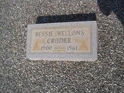 Bessie <i>Wellons</i> Crozier