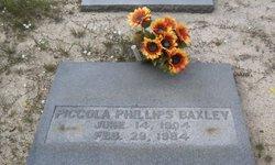 Piccola <i>Phillips</i> Baxley