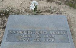 Cornelius Jones Baxley